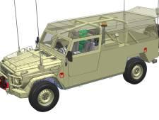 Order VDL in Eindhoven voor opbouw terreinwagens Mercedes-Benz voor Defensie