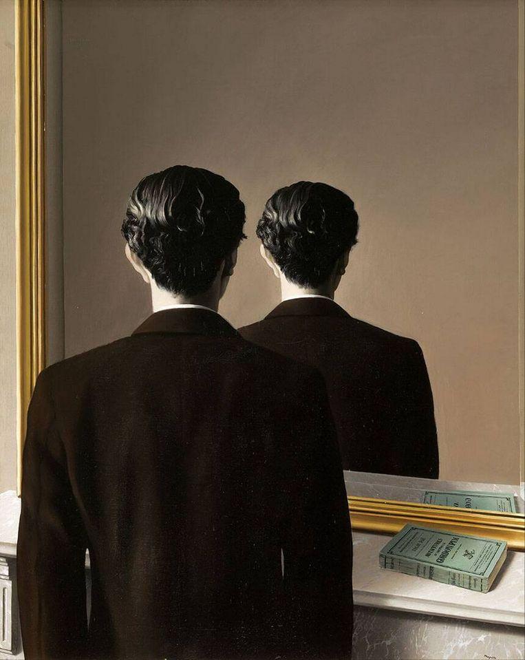René Magritte: La réproduction Interdite (1937). Beeld Museum Boijmans van Beuningen