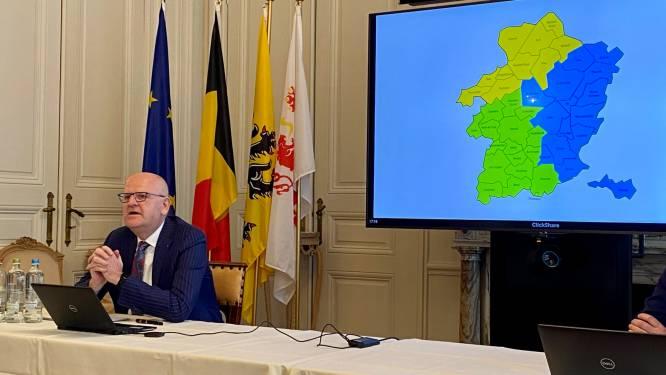 """""""Maar nee, Limburg verdwijnt absoluut niet"""": gouverneur stelt regiovorming met drie zones voor"""