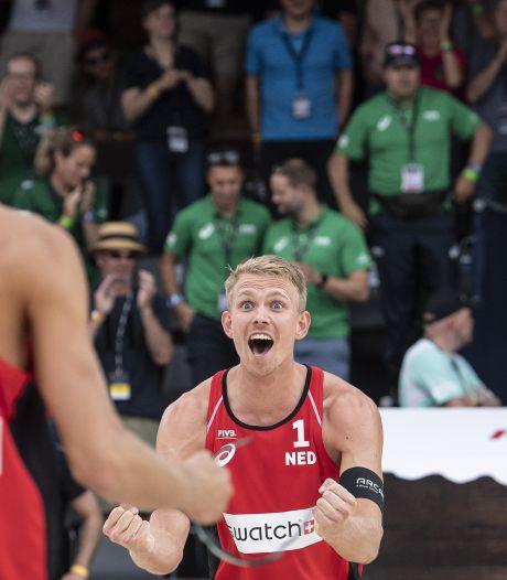 Beachvolleyballer Stefan Boermans uit Borne wint viersterrentoernooi in Gstaad