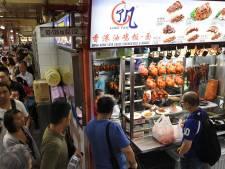 Michelinster voor goedkoop straattentje in Singapore
