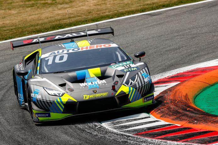 Esteban Müth verraste vriend en vijand bij zijn debuut in het hoogstaande DTM in Monza.