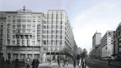 Hotel Crowne Plaza mag uitbreiden op Rogierplein