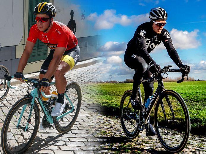 Dylan Groenewegen en Dylan van Baarle
