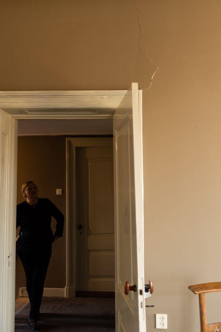 De woning van Mieke van Buuren.  Beeld Katja Poelwijk