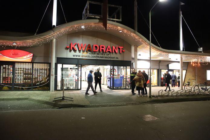 Voormalig winkelcentrum Kwadrant, hier op archiefbeeld.