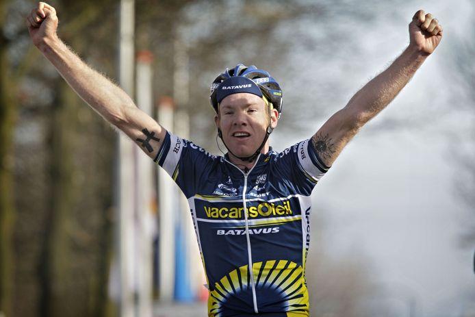 Jens Mouris ging in 2010 de boeken in als de laatste winnaar van de Ronde van het Groene Hart.