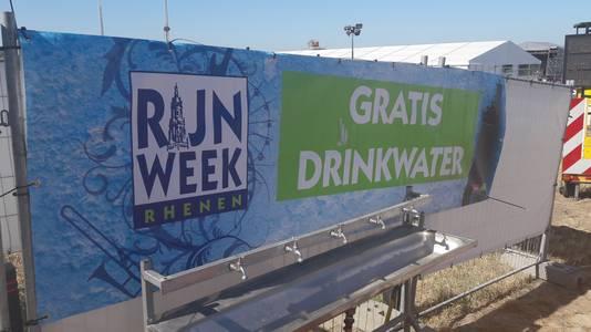 De Rijnweek in Rhenen heeft een tappunt voor gratis drinkwater.