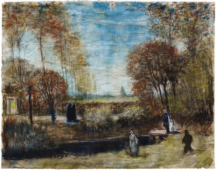 De tuin van de pastorie te Nuenen van Vincent van Gogh kocht Het Noordbrabants Museum vorig jaar voor 1 miljoen euro uit particulier bezit.