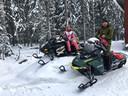 John woont al 22 jaar in Finland. Hier op de foto met zijn dochter deze week