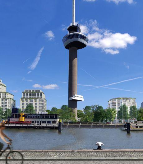 Vertraging bouwplannen Parkhaven, zorgen om uitstraling Euromast