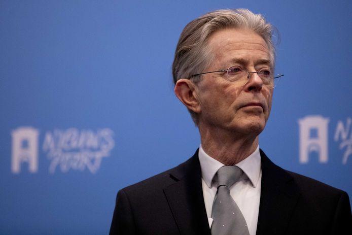 Oud-minister Joris Voorhoeve.