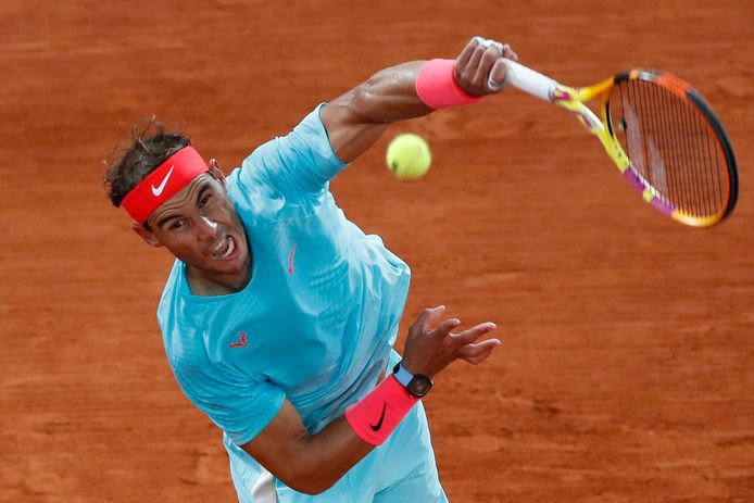 Rafael Nadal won in oktober 2020 de uitgestelde editie van Roland Garros.