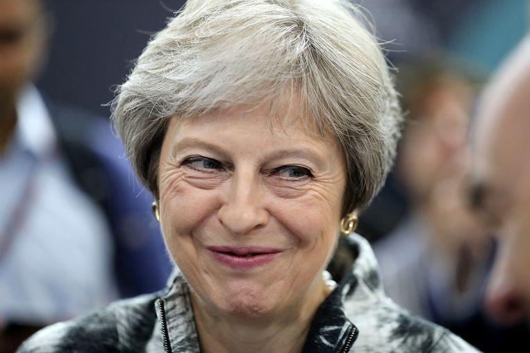 Theresa May. Beeld REUTERS