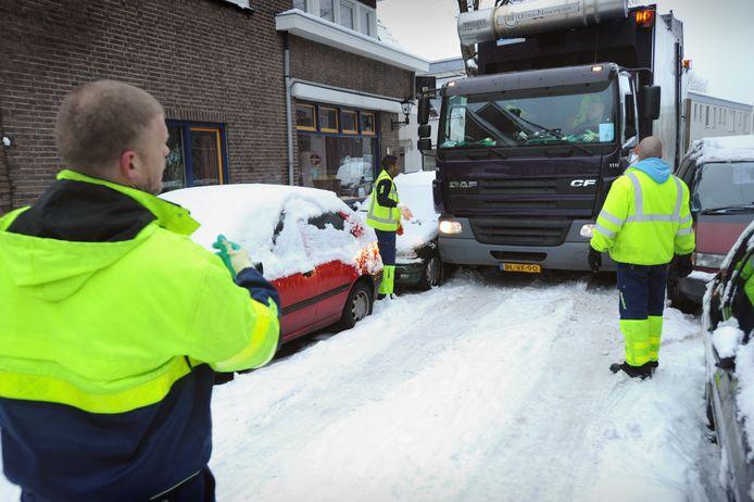 Etten-Leur maakt voor de inzameling van huisvuil gebruik van de diensten van Afvalservice Breda