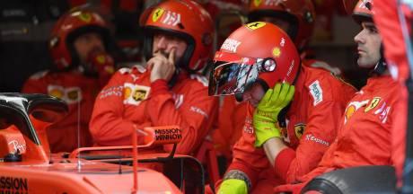 Ferrari voorziet voorlopig geen ommekeer: 'Er komen niet snel veranderingen aan de auto'
