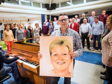 Zoetermeers koor Invasion neemt met eerbetoon afscheid van overleden Dorine