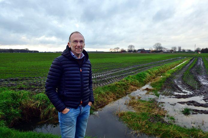 Patrick 't Hart wil een voedselbos aanleggen bij het nieuwe Bravis-ziekenhuis bij de Bulkenaar.
