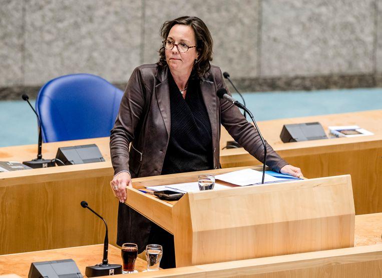 Tamara van Ark, demissionair minister voor Medische Zorg.  Beeld Hollandse Hoogte /  ANP