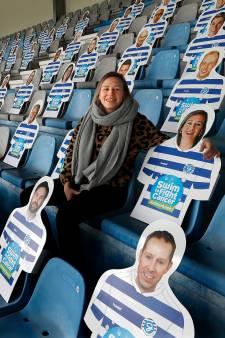Duizend smoelen op de stoelen van de Vijverberg tegen kanker, ook die van Suze (25): 'Krijg toch een beetje het gevoel dat ze het ook voor mij doen'