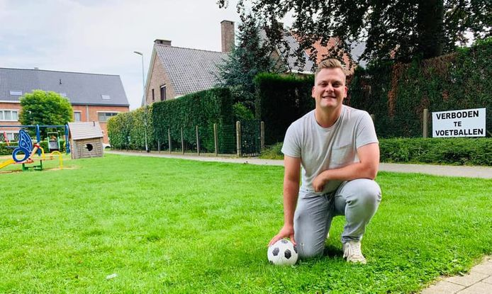 Zottegem: Louie Van Rijsselberge vindt het voetbalverbod alvast niet kunnen