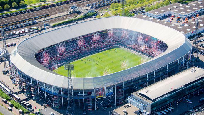 De Kuip is het populairste sportcomplex van Nederland.