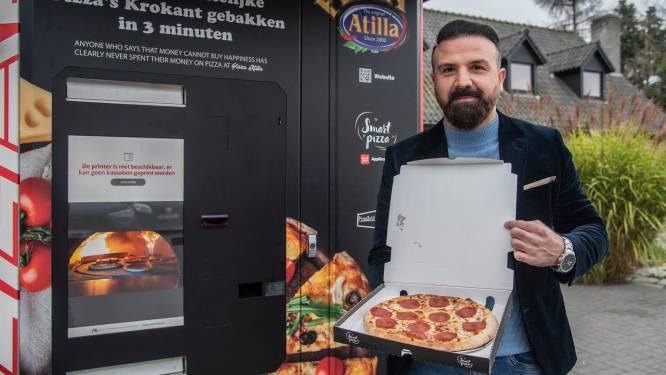 Pizza Atilla 'hot' in binnen- en buitenland: Zeelse ondernemer opende in minder dan jaar tijd al 15 pizza-automaten