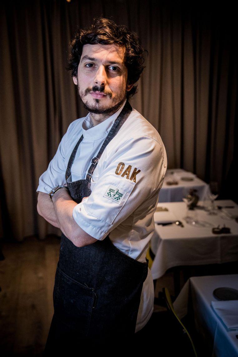 Chef-kok Marcelo Ballardin van het Gentse restaurant OAK zal te zien zijn in het nieuwe VTM-programma 'Mijn keuken mijn restaurant'.