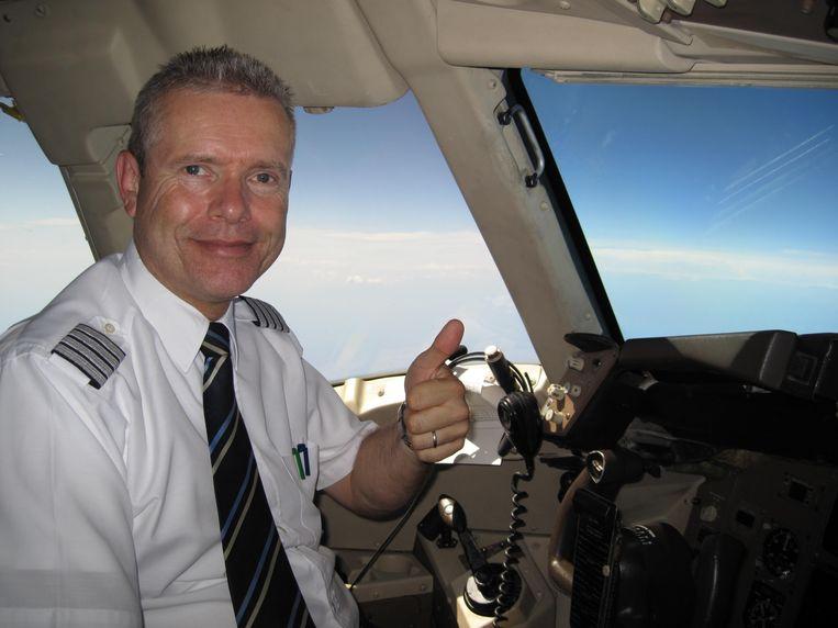 De Belgische piloot en luchtvaartexpert Andre Berger.