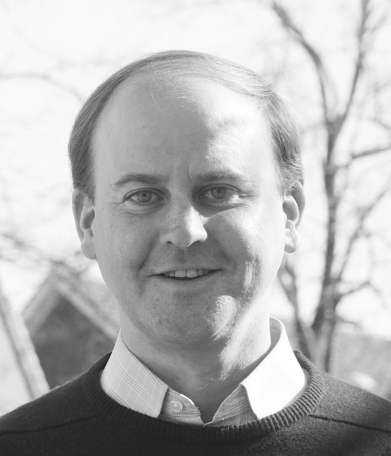 Joost Röselaers, predikant van Vrijburg Amsterdam. Beeld