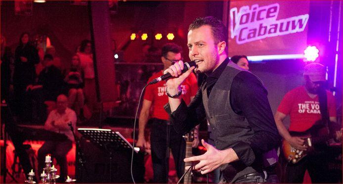 Winnaar van The Voice of Cabauw Hugo van Amerongen: 'Zingen is eigenlijk niet mijn ding'.