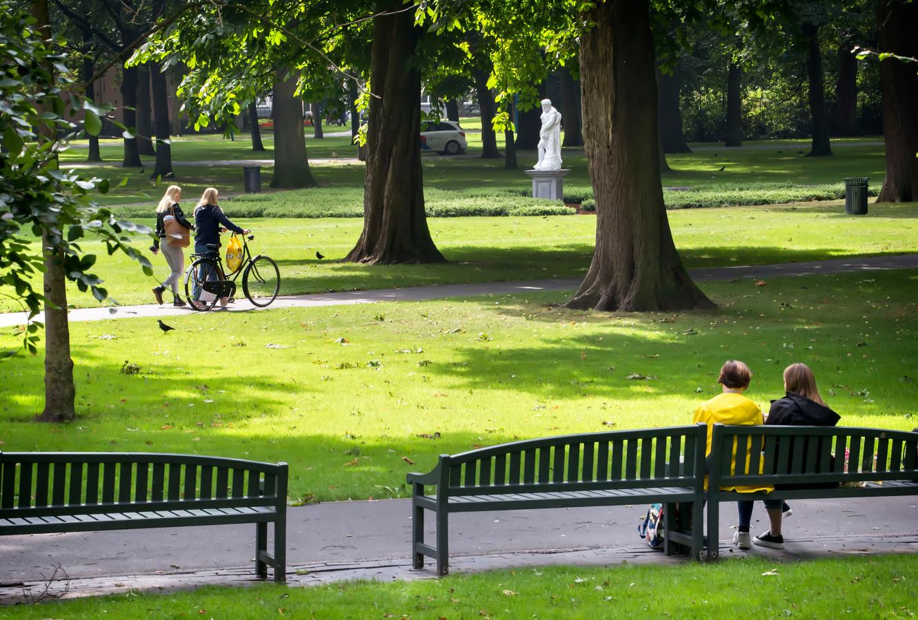Het Valkenbergpark in Breda.