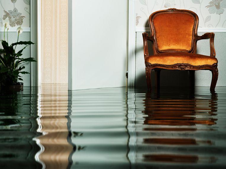 Wateroverlast Limburg Beeld Getty Images