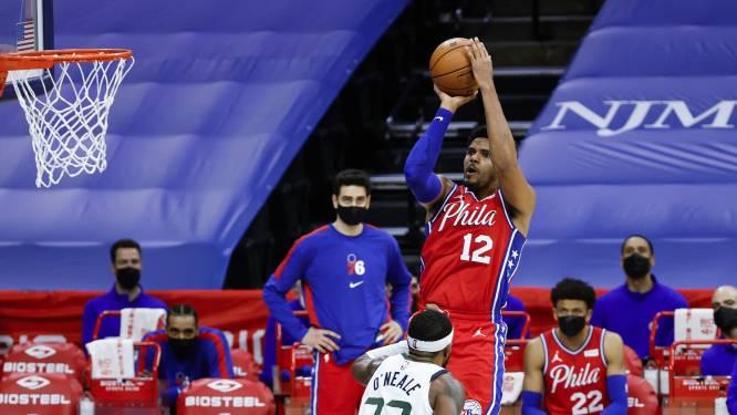 Philadelphia verslaat Utah in topper, LeBron ziet Lakers verliezen