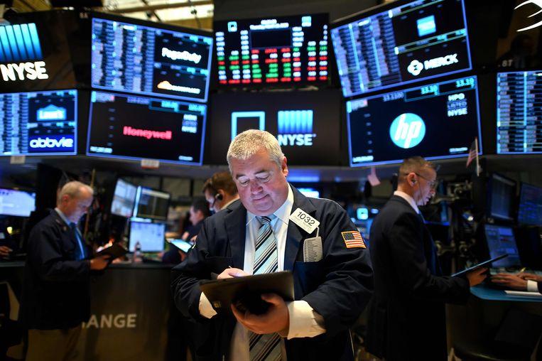 'De VS kunnen niet failliet gaan, Vergeet die farce. We hebben miljarden dollars ongebruikt op tafel laten liggen.'  Beeld AFP