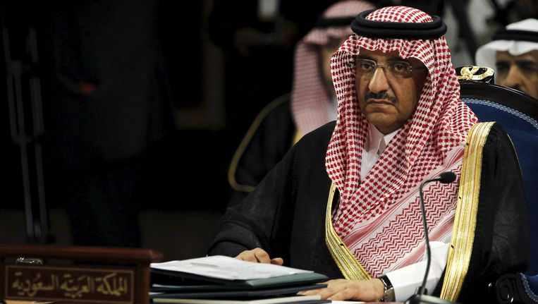 Mohammed ben Nayef Salman, de nieuwe Saoedische kroonprins. Beeld REUTERS