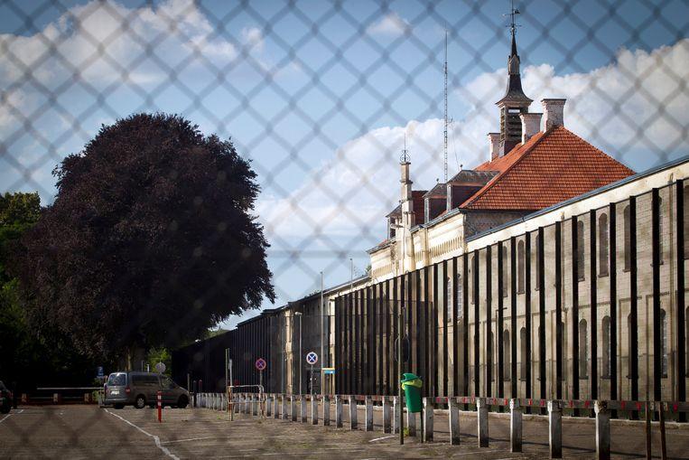 De gevangenis van Merksplas, waar een 29-jarige geïnterneerde al sinds 2007 vast zit. Beeld BELGAIMAGE