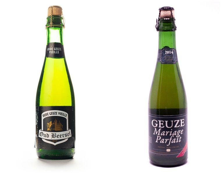 Oud Beersel en Geuze Mariage Parfait. Beeld rv