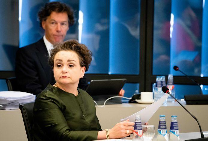 Staatssecretaris Alexandra van Huffelen van Financiën (Toeslagen en Douane) in de Tweede Kamer