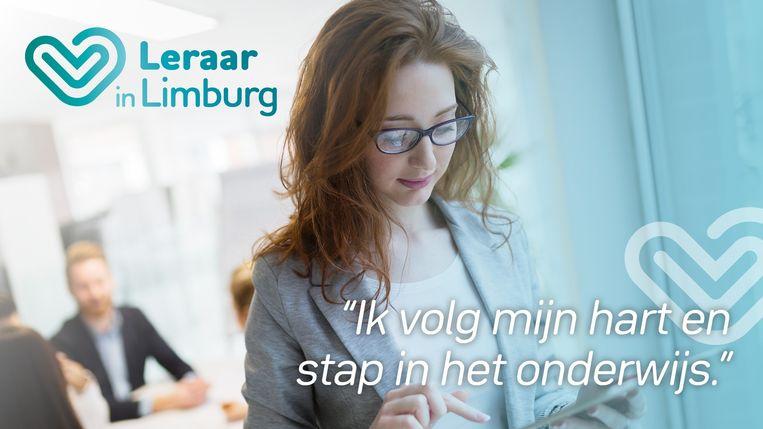 Campagnebeeld Leraar in Limburg