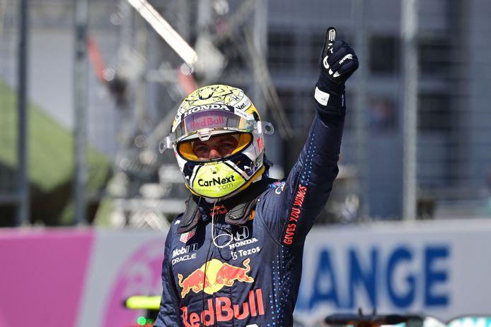 Pole-position pour le leader du championnat du monde, Max Verstappen, en Autriche.