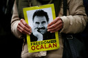 Abdullah öcalan, het boegbeeld van de PKK, zit gevangen in een Turkse cel. Foto REUTERS/Vincent Kessler