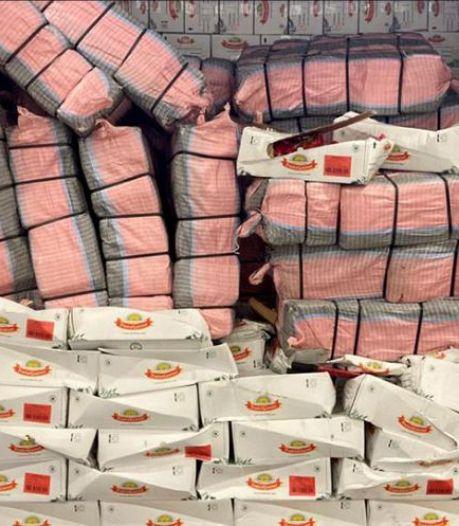 Douane onderschept 2807 kilo cocaïne in 24 uur in Rotterdamse haven