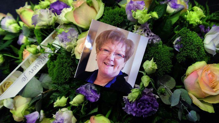 Gerda Mylle werd woensdag 24 juni ten grave gedragen.