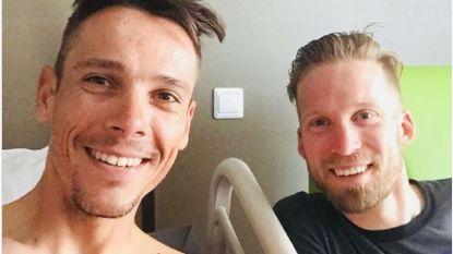 KOERS KORT 27/07. UCI nodigt Afrika uit WK van 2025 te organiseren - Gilbert even in België voor bloedpunctie, Bakelants én Boonen brengt hem een bezoekje
