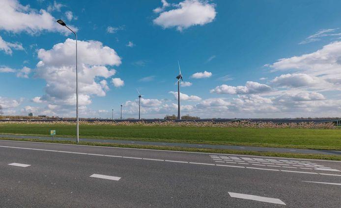 Is een combinatie van windpark met zonnepark de beste optie om grootschalig duurzame energie op te wekken op de Veluwe?