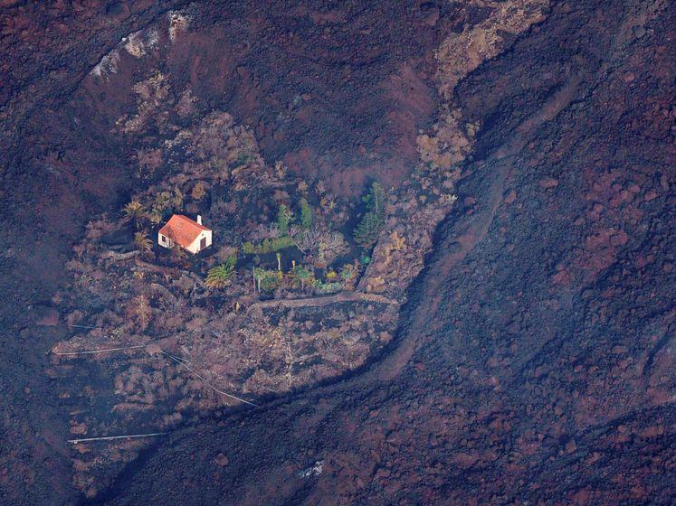 Wonderhuisje dat vulkaan La Palma overleeft gaat wereld over