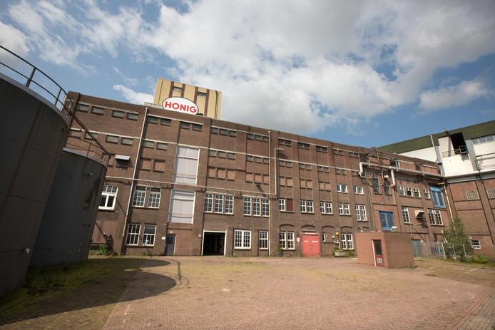 Delen van het Honigcomplex, zoals dit gebouw blijven mogelijk  behouden.