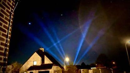Lichtspektakel eert helden van coronacrisis