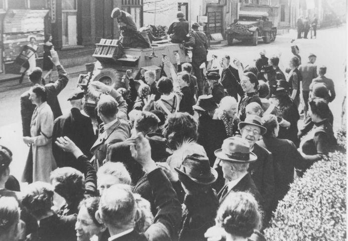 Bevrijding van De Steeg in april 1945.